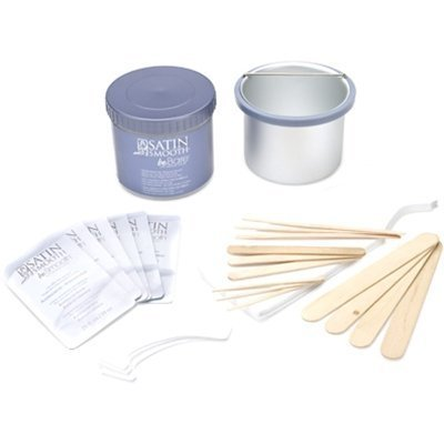 Satin Smooth Bebare Botanical Hair Removal System Kit,
