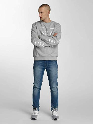 Superior Gris True Stay Rocawear Jersey Hombres Ropa xqFYwa8EB