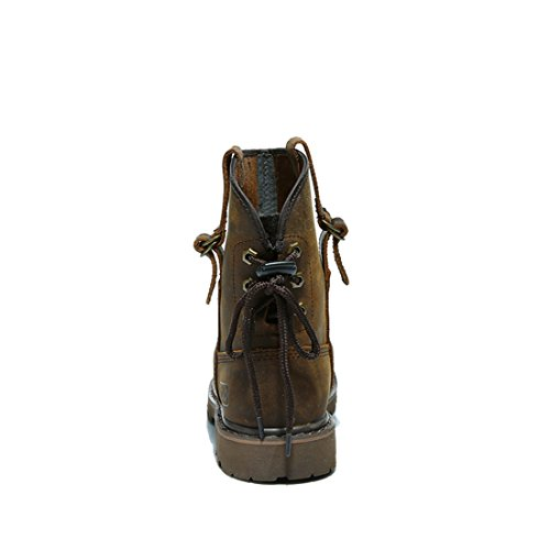 Mode Boots suo Z Cheval Adulte Marron Femme Homme Cuir bottes Mixte wHxH5BS