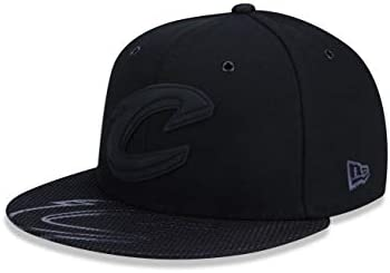 b8a0e90445 BONE 950 CLEVELAND CAVALIERS NBA ABA RETA PRETO NEW ERA: Amazon.com ...