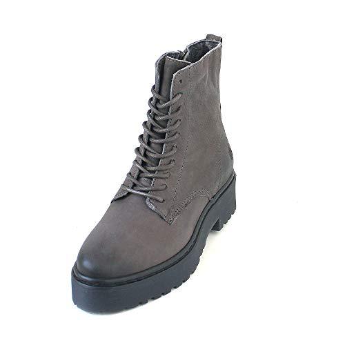 Grau Apple De Eden Grey Tacón Of Zapatos Mujer dk Cuero qU1UO0rnwx