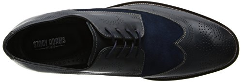 Stacy Adams Mens Revel Oxford Navy