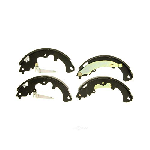 AutoDN REAR 4PCS Drum Brake Shoe Set For FORD ESCAPE 2008 2009 2010 2011 2012 ()