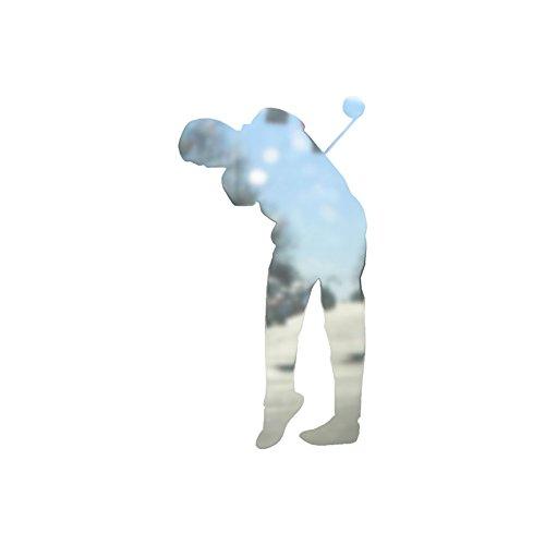 Golfer Sticker (Golf Drive Golfer - Vinyl Decal Sticker - 5.75