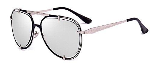 rond du vintage C retro lunettes Lennon de style polarisées cercle soleil métallique inspirées en ATOq0wIq7