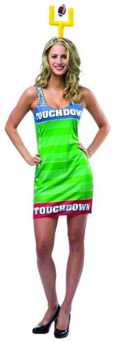 [Rasta Imposta Women's Touchdown Dress, Multi, One Size] (Touchdown Adult Costumes)