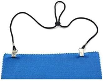 couvertures pour personnes /âg/ées//adultes//b/éb/és//enfants noires serviettes Lot de 3 fixations de bavoirs r/églables 90/cm