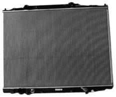TYC 2830 Honda Ridgeline 1-Row Plastic Aluminum Replacement Radiator