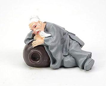 EEvER Adorno de Caracteres Chinos para el Acuario Adorno para el Paisaje del Tanque de Peces Accesorios para el hogar (Viejo Borracho): Amazon.es: Hogar