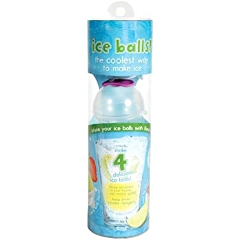 Prepara Ice Balls, Lemon, Lime, Raspberry and Tangerine, Set of 4