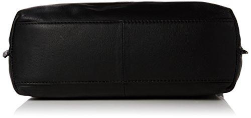 BREE Toulouse 4 - Bolsa de la compra de cuero mujer negro - Schwarz (black smooth 909)