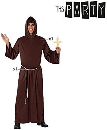 Atosa-39528 Disfraz Monje, Color marrón, XL (39528): Amazon.es ...