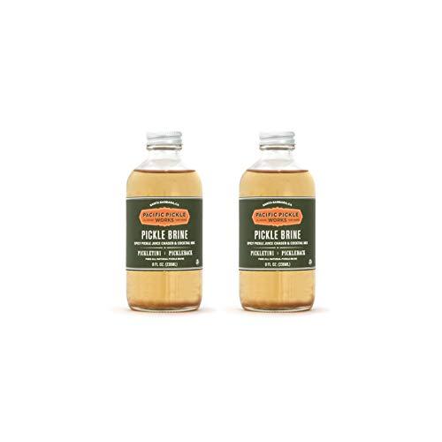 (Pickle Brine (2-pack) - Spicy pickle juice)