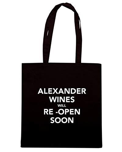 Borsa Shopper Nera TKC3474 ALEXANDER WINES WILL RE OPEN SOON