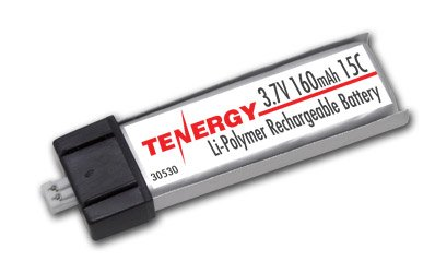 3.7V 160mAh 15C LiPo Batteries for Micro Helicopters E-flite MSR /SR/ (160mah Battery)
