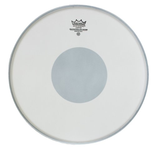Remo CS0110-00 Coated Controlled Sound Drum Head - 10-Inch - White Dot on Bottom