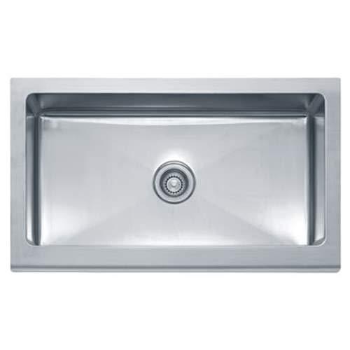 Franke Manor House Drop In Steel Kitchen Sink MHX710-36 Stainless Steel