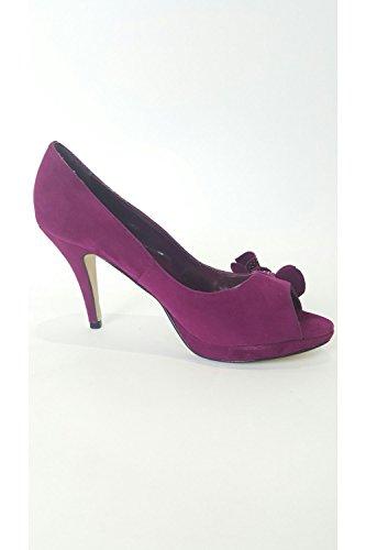 Schuh nbsp;Samt VT Blume Collection Violett Violett Verdon vtl601 SRYzxq