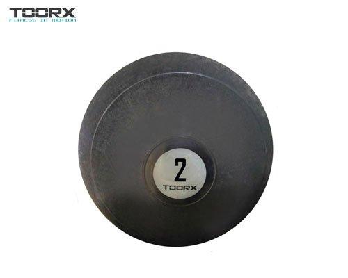 SLAM BALL anti rebote 23 cm 6 kg TOORX