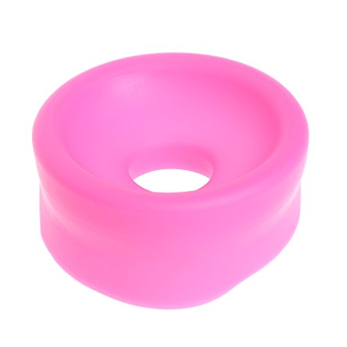 Yumian 5 Pcs/Set (Random Color) Manual Electric Vacuum Penis Pump Sleeve Cover Seal Device Accessory For Air Enlarger Extender Pumps - Sex Things for Male Men Toy