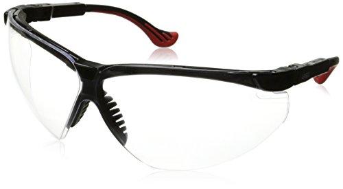 Frame Safety Uvex Glasses Xc - Uvex S3300X Genesis XC Safety Eyewear, Black Frame, Clear UV Extreme Anti-Fog Lens