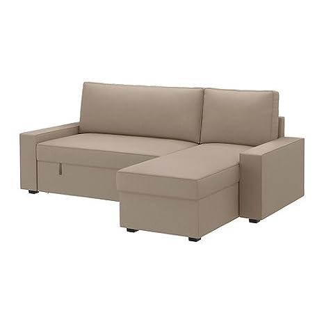 Ikea VILASUND - Cubierta sofá-Cama con Chaise Longue - 80x60 ...
