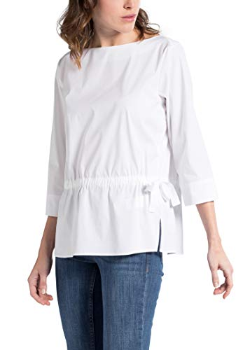 Bianco 3 Sleeve Premium Uni Blouse Eterna 4 1863 By ARqnwv