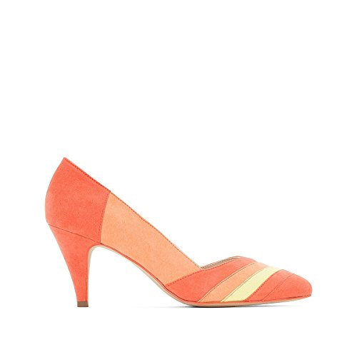 La Redoute Collections Frau Pumps mit Grafischem Muster Gre 36 Orange DiQLL
