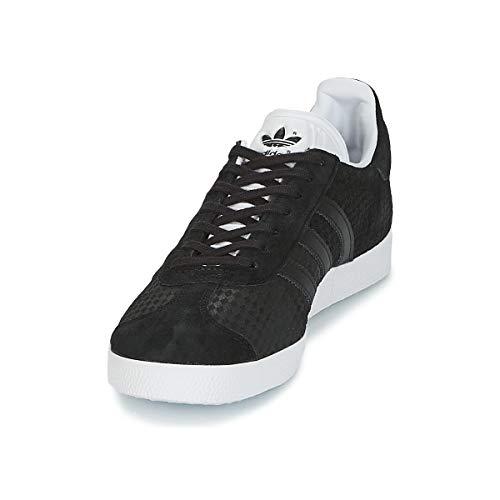 0 Ftwbla Noir Femme Gazelle Negbás de adidas Chaussures W Negbás Gymnastique Rvqng