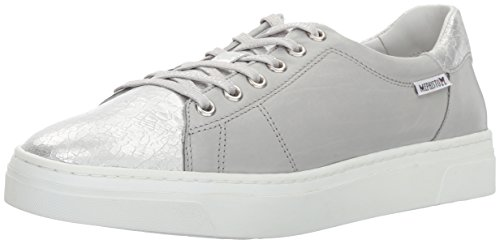 Ice Light Silver Antonia Womens Grey Silk Mephisto qYa1w1