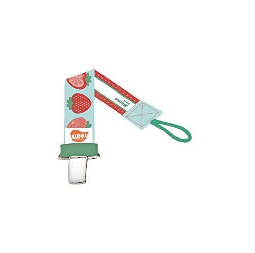 Ulubulu Universal Pacifier Clip Strawberry