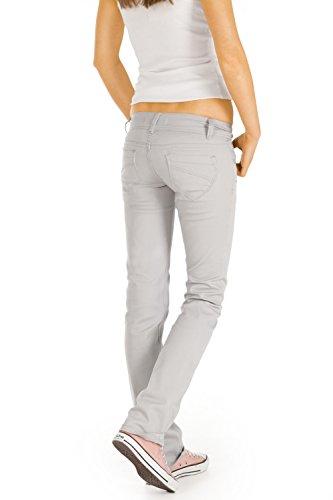 Bestyledberlin pantalons Fonc straight femme Grey j245p cut jean Frwq7F