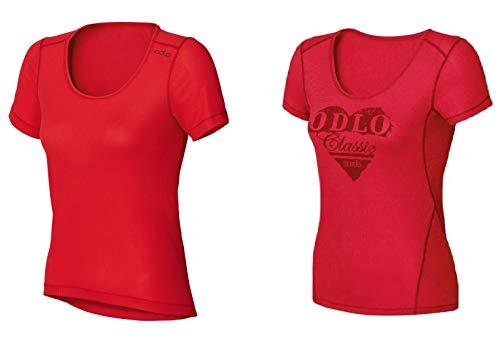 Odlo Doppelpack Sportwäsche 2 Shirts Cubic Light 140811 Damen