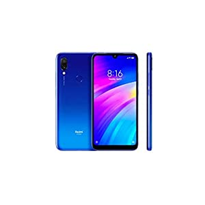 Xiaomi Redmi 7 64GB + 3GB RAM 6.26″ HD+ LTE Factory Unlocked GSM Smartphone (Global Version) (Comet Blue)