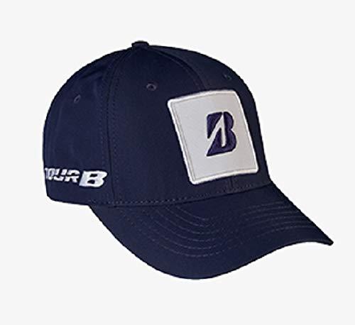 Bridgestone KUCHAR Collection Adjustable Golf HAT/Cap - Navy