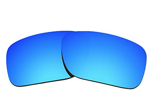 COLOR STAY LENSES 2.0mm Thickness Polarized Replacement Lenses for Oakley SI Ballistic Det Cord OO9253 Blue Mirror Coatings by COLOR STAY LENSES