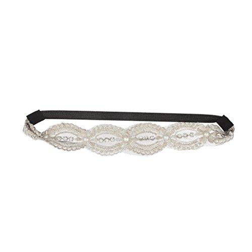 Stretch Veil (Lux Accessories Pave Stretch Headband)