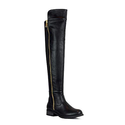 Long Boots - WestCoast Low Heel Over The Knee
