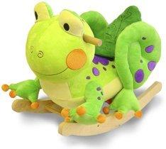 Fergie Frog Plush Rocker-Rockabye #85026 by Rockabye
