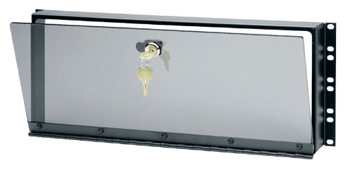 Hinged Plexiglass Security Cover For Rackmounts Height  14  H  8U Space