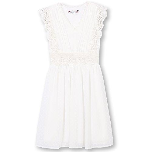 Speechless Big Girls' Sweet Easy Dress, Ivory, (Ivory Sweet)