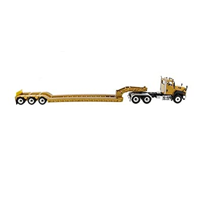 Diecast Masters Cat Caterpillar CT660 Day Cab with XL 120 Low-Profile HDG Lowboy Trailer and Operator Core Classics Series 1/50 Diecast Model 85503 C: Toys & Games