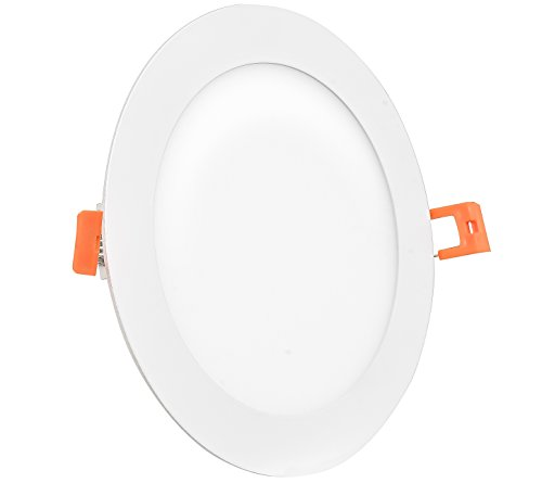 Westgate Lighting 18W 8 Inch Ultra Slim Recessed Light with Junction Box Included - Dimmable - No Housing Required - 120V- Damp Location Rated - Energy Star - 5 Year Warranty (1 Pack 5000K Cool White)