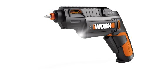 WORX WX254L SD Semi-Automatic Power Screw Driver with 12 Driving Bits