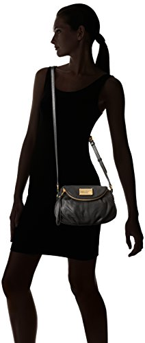 6a68ec8f95 Marc by Marc Jacobs Classic Q Mini Natasha Cross Body Black 2 One Size