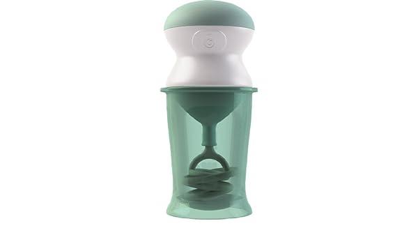 Mezclador antigrumos Onctuo de Beaba verde pastel: Amazon.es: Bebé