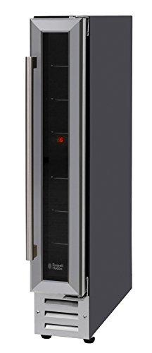 Russell Hobbs RHBI7WC1SS Built-in or Freestanding 7 Bottle Wine Cooler,...