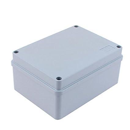 eDealMax 150 x 110 x 70 mm a prueba de agua caja de conexiones Terminal DIY