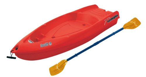 K.L. Industries Sun Dolphin Bali Sit-on-top Kayak (Red, 6...