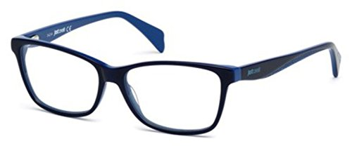 JUST CAVALLI Eyeglasses JC0712 090 Shiny Blue